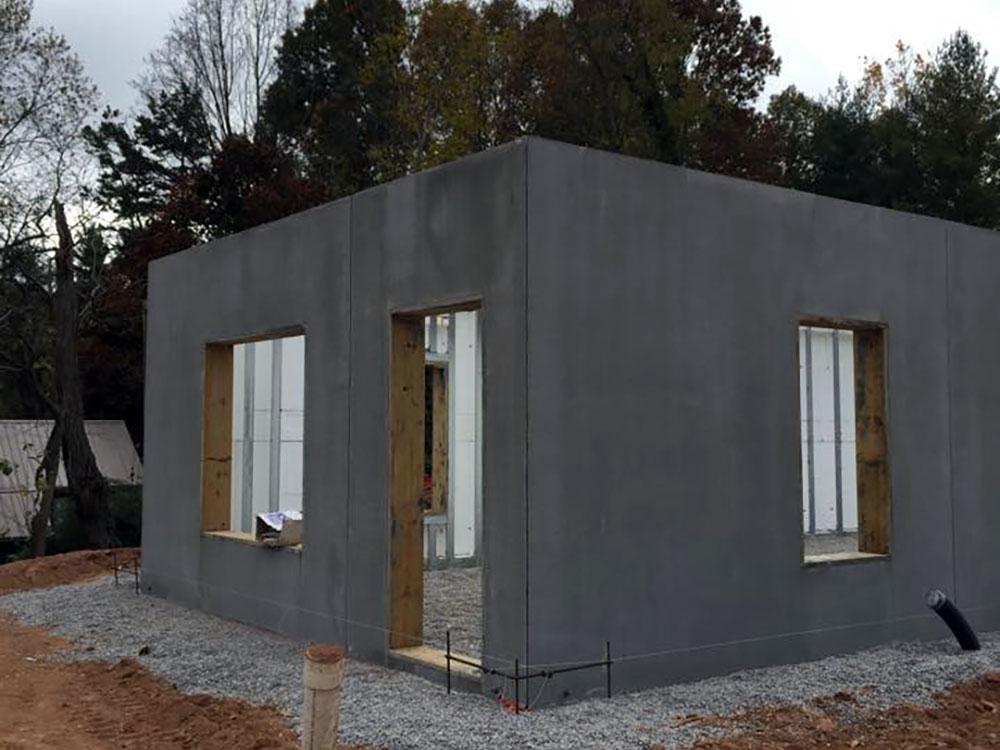 exterior precast walls